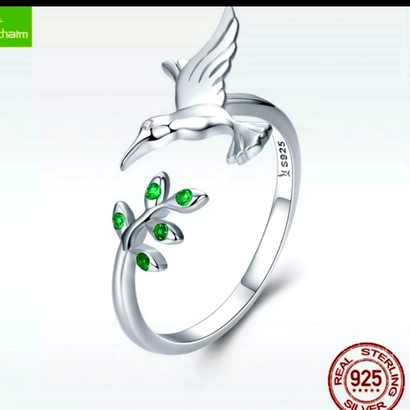 Sterling Silver Birdie Ring